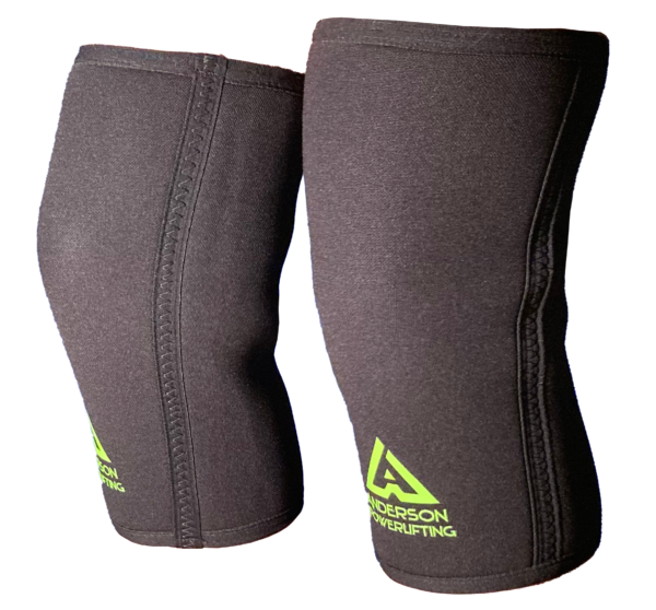 Anderson Extreme Knee Sleeves 7mm neoprene with reinforced sides for superior support