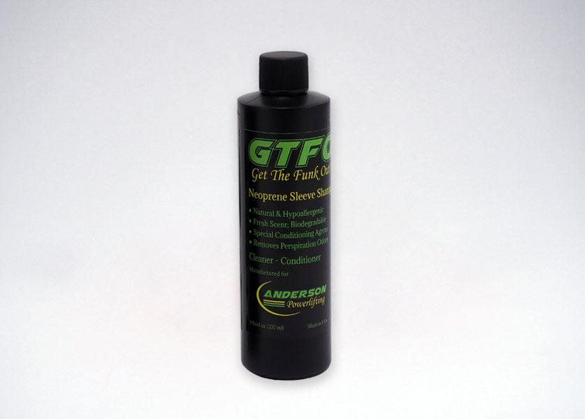 gtfo neoprene sleeve shampoo