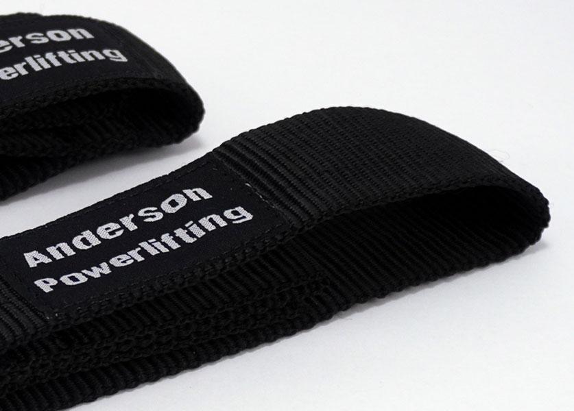 close up of nylon kla lifting straps