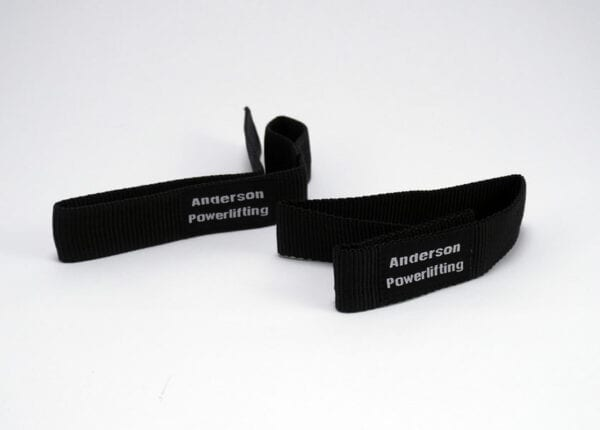 wide shot of nylon kla lifting straps