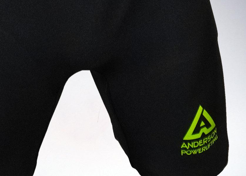 close up of kla new logo singlet