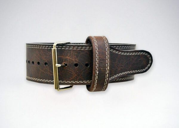 longhorn oiled buffalo single prong belt