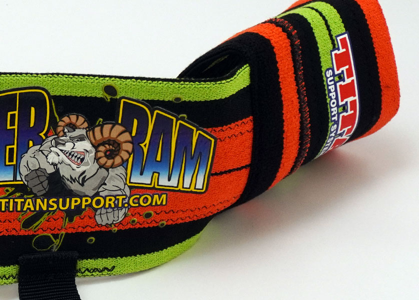 close up of titan super ram bench press aid
