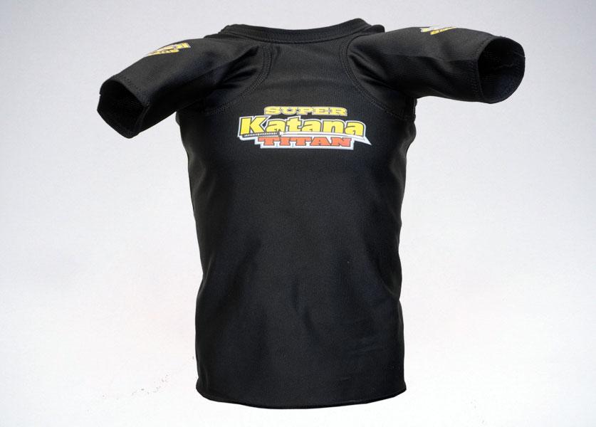 black titan super katana bench shirt