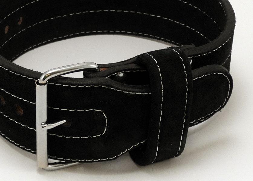 close up of kla single prong belt